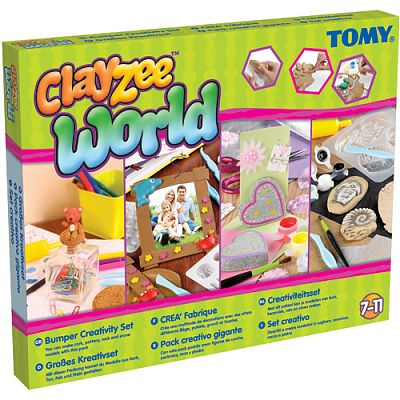 Clayzee activity TOMY - Clayzee - Set creativ mare