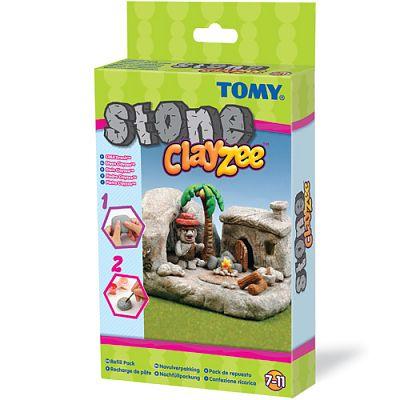 Clayzee activity Clayzee - Kit de reincarcare (pentru creatii din piatra)