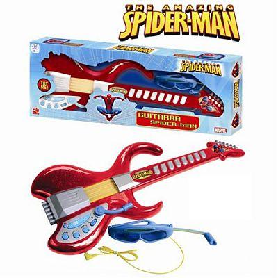 Reig Musicales Chitara cu ochelari si microfon Spiderman