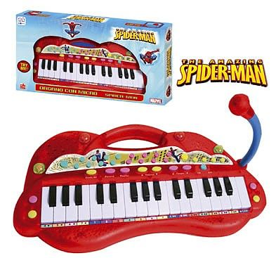 Reig Musicales Orga electronica cu microfon Spiderman