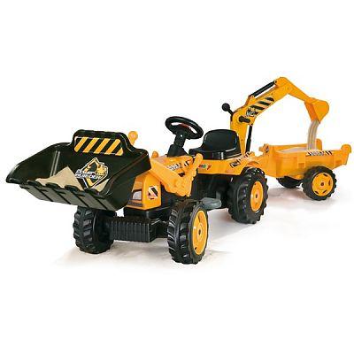 Smoby Tractor MAX cu remorca