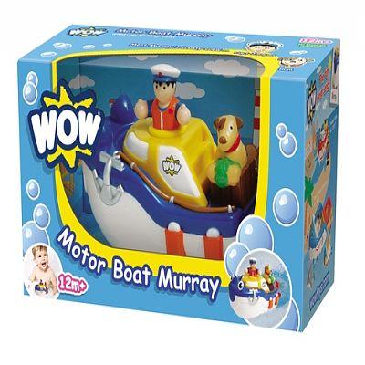 wow Jucarie de baie Barca cu motor Murray
