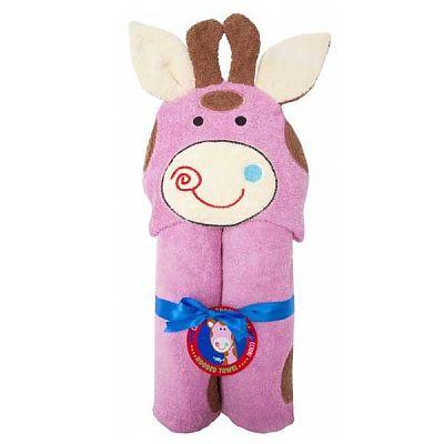 ZOOCCHINI Prosop tip halat ZooCchini Girafa roz Jilly