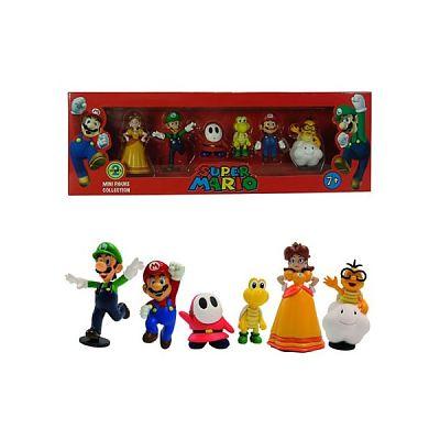 Nintendo Mini - Figurine Mario (Set de 6buc)