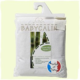 BabyCalin Protectie impermeabila saltea, bambus 140 x 70 cm