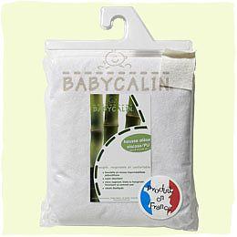 BabyCalin Protectie impermeabila saltea, bambus 120 x 60 cm