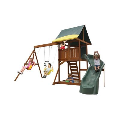 Big Backyard Loc de joaca Oriana Swingset Spiral