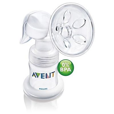 PHILIPS AVENT Pompa manuala pentru san PP 0% BPA