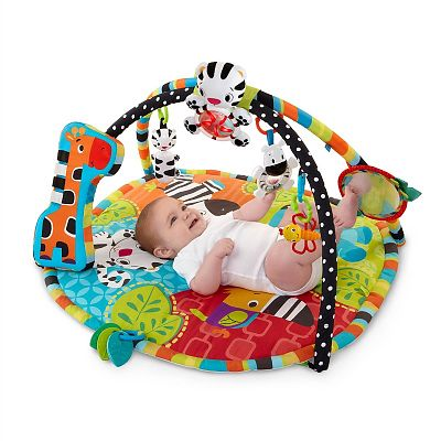 Bright Starts Start Your Senses Salteluta interactiva Spots & Stripes
