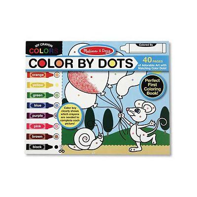 Melissa&Doug Bloc cu desene de colorat