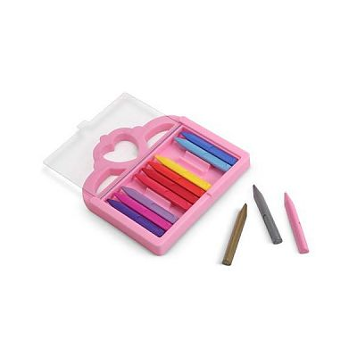 Melissa&Doug Set 12 creioane colorate triunghiulare Princess