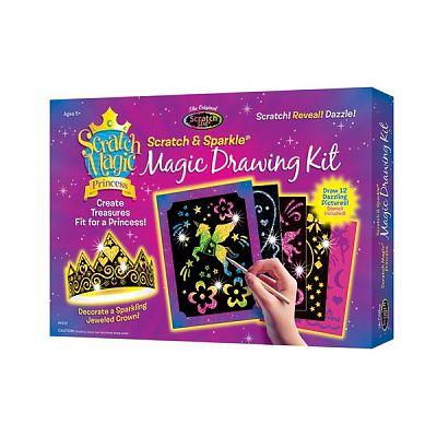 Melissa&Doug Kit desen prin razuire - Printesa magica