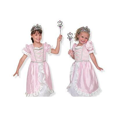 Melissa&Doug Costum de carnaval (jocuri de rol) Printesa