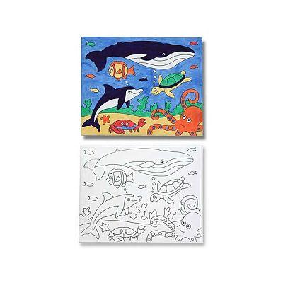Melissa&Doug Pictura pe panza (canvas) Peisaj marin