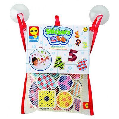 Alex Toys Stickere pentru baie Numere si forme