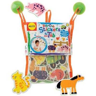 Alex Toys Stickere pentru baie Prieteni de la ferma