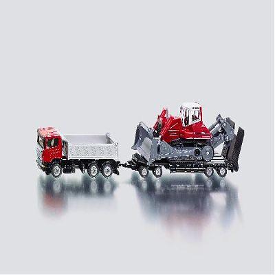 SIKU Scania si buldozer
