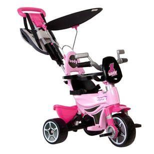 Injusa Tricicleta pentru copii Injusa Body ROZ
