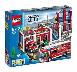 LEGO Statie de pompieri