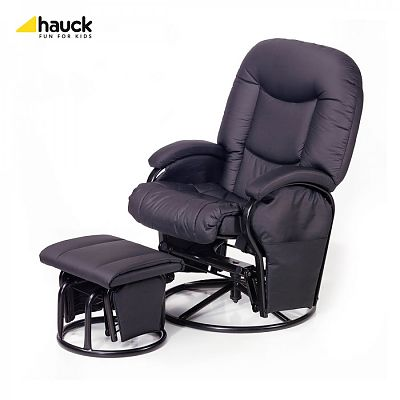 Hauck Fotoliu balansoar - Metal Glider Recline - negru