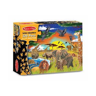Melissa&Doug Puzzle 200 piese Aventura Safari