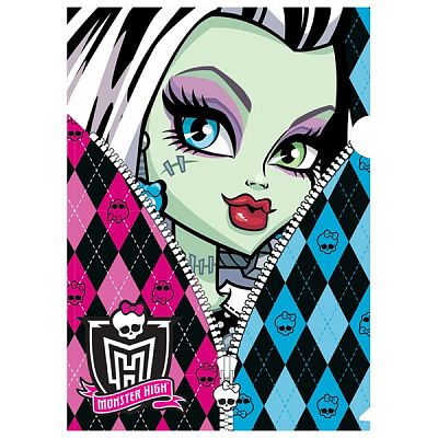 BTS Mapa din plastic Monster High Zipper