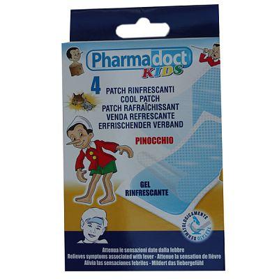 Pharmadoct Plasturi racoritori impotriva febrei 4 buc. 11x5 cm