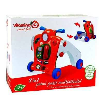 Vitamina G Antepremergator/Tricicleta 2 in 1 Multiactivitati