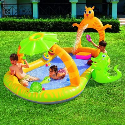 Bestway Piscina gonflabila Jungle Safari