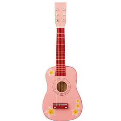 New Classic Toys Chitara roz cu flori 3-5 ani