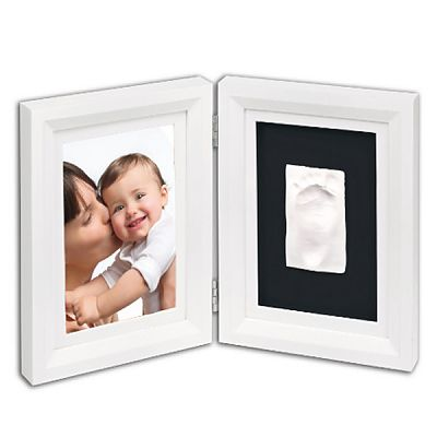 Baby Art Print Frame White & Black