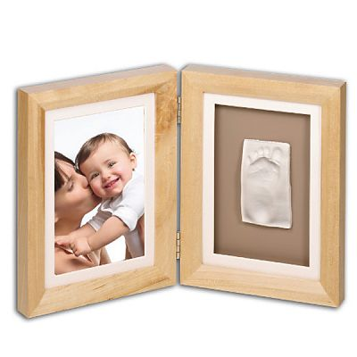 Baby Art Print Frame Natural