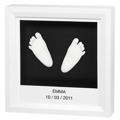 Baby Art Rama Window Sculpture Frame White