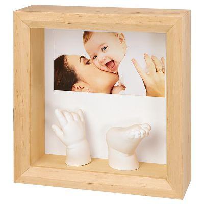 Baby Art Rama Photo Sculpture Frame Natural