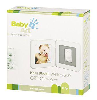 Baby Art Rama - Print Frame White & Grey