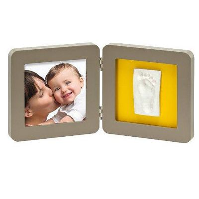 Baby Art Rama - Print Frame Taupe & Azure/Sun