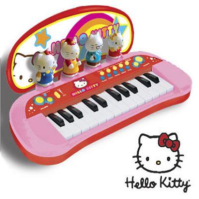 Reig Musicales Pian cu figurine Hello Kitty