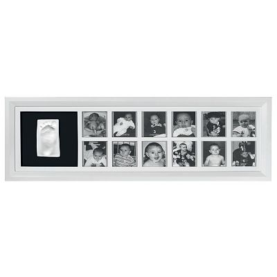 Baby Art First Year Print Frame WHITE & BLACK