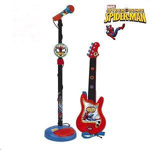Reig Musicales Set chitara si microfon Spiderman