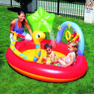 Bestway Centru De Joaca gonflabil cu piscina