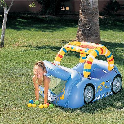 Bestway Centru De Joaca  gonflabil masinuta cu 50 de bile