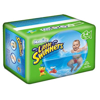 Huggies Chilotei impermeabili copii LITTLE SWIMMERS  marimea S-(7-15kg)
