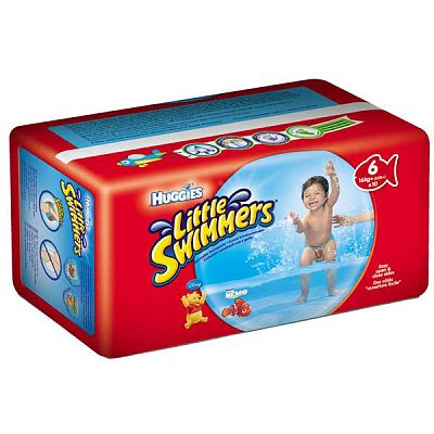 Huggies Chilotei impermeabili copii LITTLE SWIMMERS -L-(+16kg)
