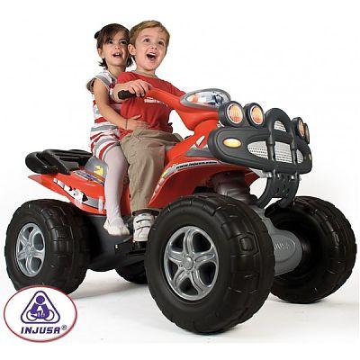 Injusa ATV electric copii Injusa Mega Cyclops 12V