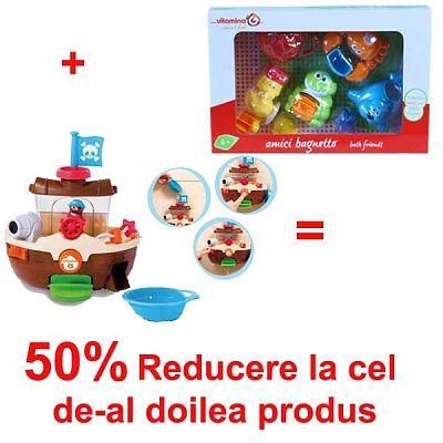 Vitamina G Pachet Promotional Corabia Piratilor Veseli + 50% Prietenii de balaceala