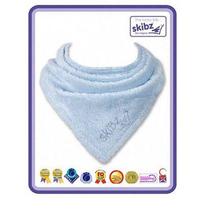 Skibz Baveta/Esarfa bebe Baby Blue (Organic)
