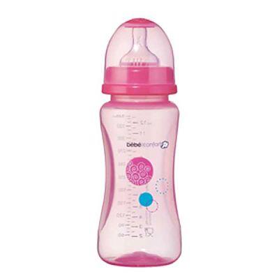 Bebe Confort- Mica Biberon Evidence PP 360 ML 0%BPA ROZ