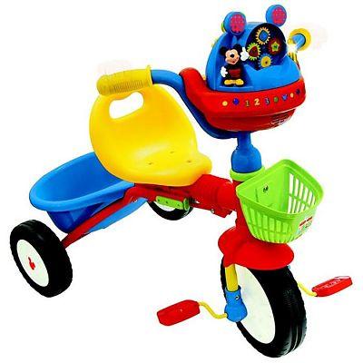 Kiddieland Tricicleta pliabila interactiva Mickey Mouse