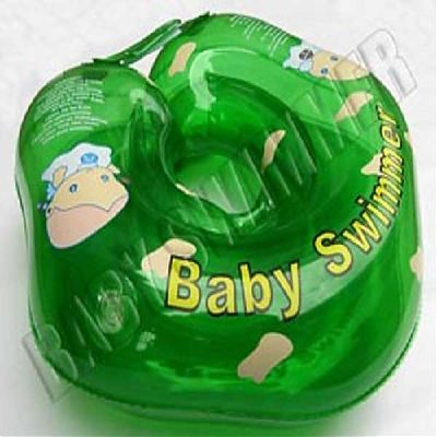 BabySwimmer Colac de inot pentru gat 0-24 luni (3-15kg) VERDE