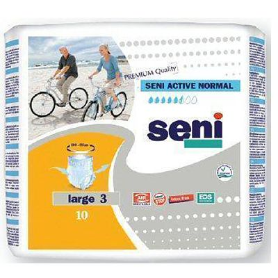 Seni Chilot Seni ACTIVE Normal Medium Nr 3 -10 buc